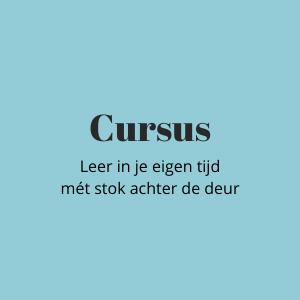 PR-cursus